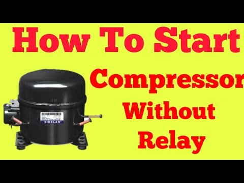 Compressor Direct Start Without Relay - YouTube