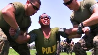 U.S. Marines Tasering Philippines Military & Police - Taser Techniques Training