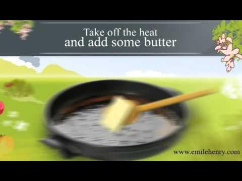 Emile Henry Flame 12-inch Tart Tatin - YouTube