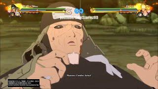 Naruto Shippuden Ultimate Ninja Storm 4 - Sarutobi x Tobirama New Ultimate Jutsu