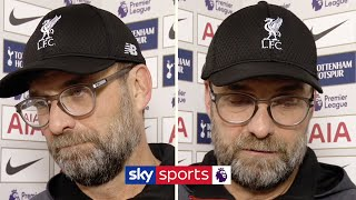 Jurgen Klopp explains WHY he is not elated after win over Tottenham | Post Match