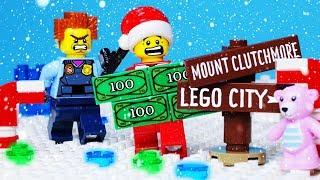 LEGO EXPERIMENTAL BANK ROBBERY FAIL - POLICE CHASE ANIMATION
