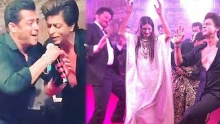 Salman, Shahrukh, Anil, Varun CRAZY DANCE At Sonam Kapoor's Wedding   Throwback   FULL VIDEO
