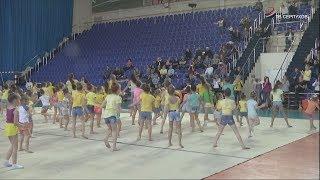 В Серпухове прошел открытый урок по художественной гимнастике