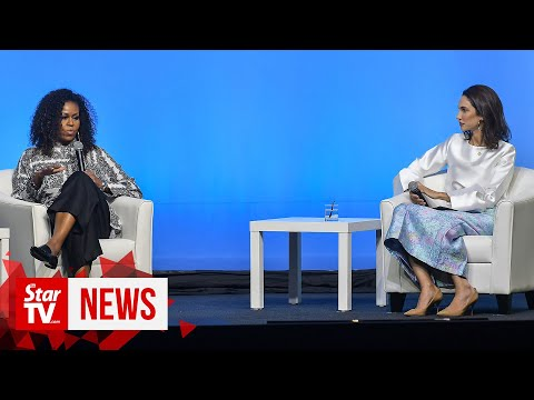 Michelle Obama explains imposter syndrome