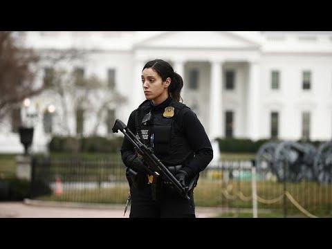 Carro causa pânico na Casa Branca