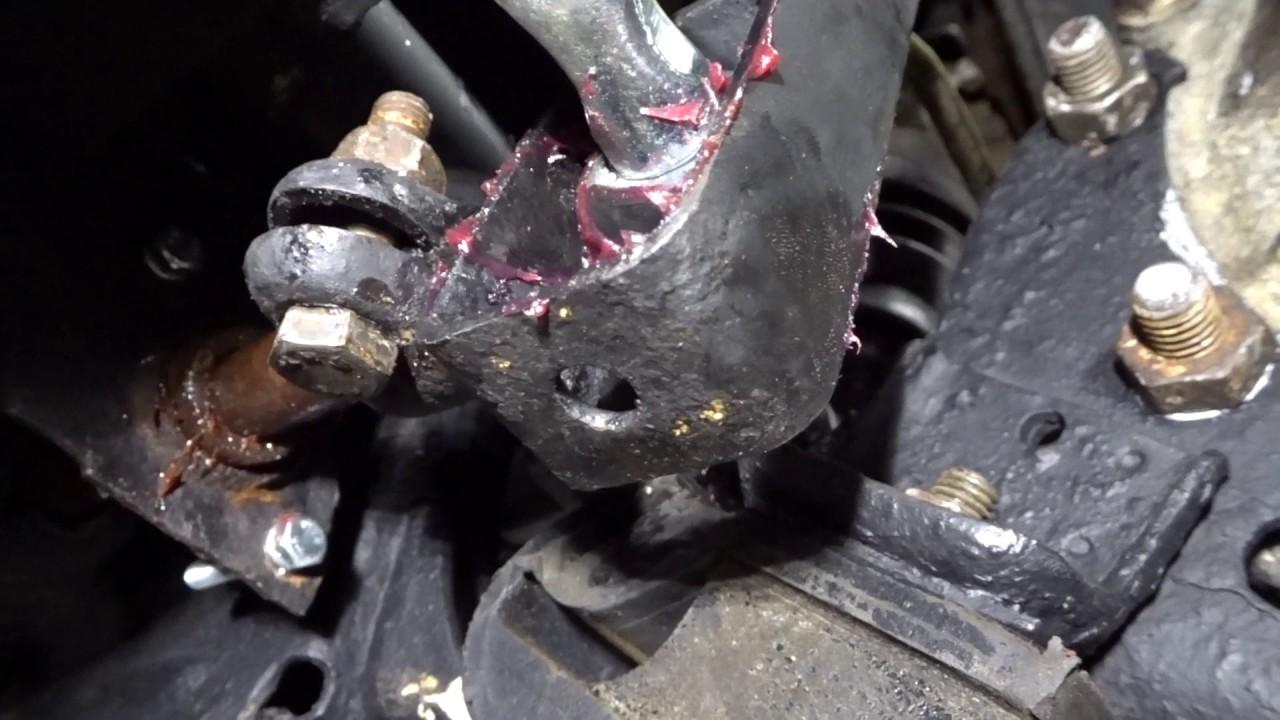 2017 Vw Jetta >> Volkswagen MK1 Jetta - Shift Linkage Adjustment & Axle Nut Torquing - YouTube