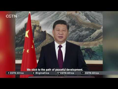 President Xi's 2017 New Year Address