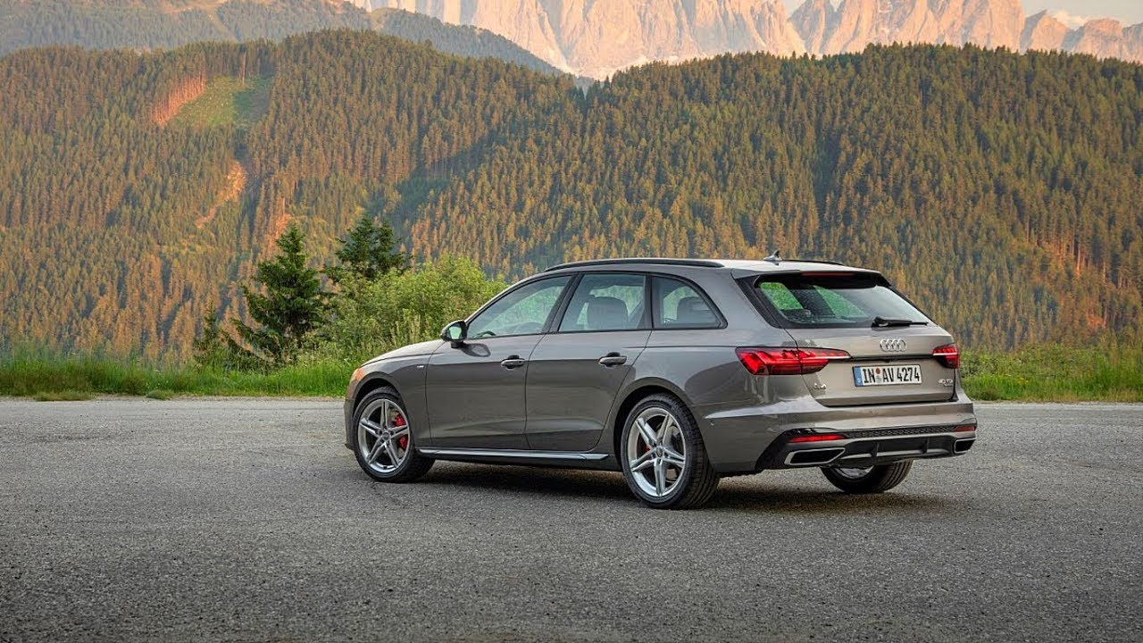 2021 New Audi A4 Avant The Best in class - YouTube