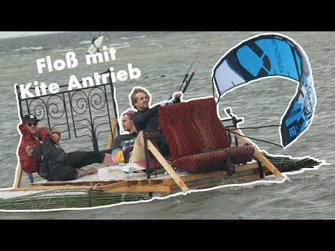 FLOßRENNEN Wind vs Muskeln auf dem Meer | vs Laura Kampf