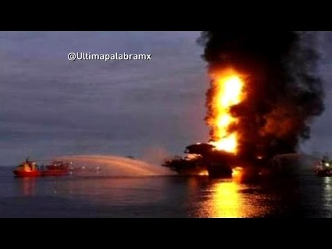 Oil Platform Explosion: Fire Erupts In Gulf Of Mexico