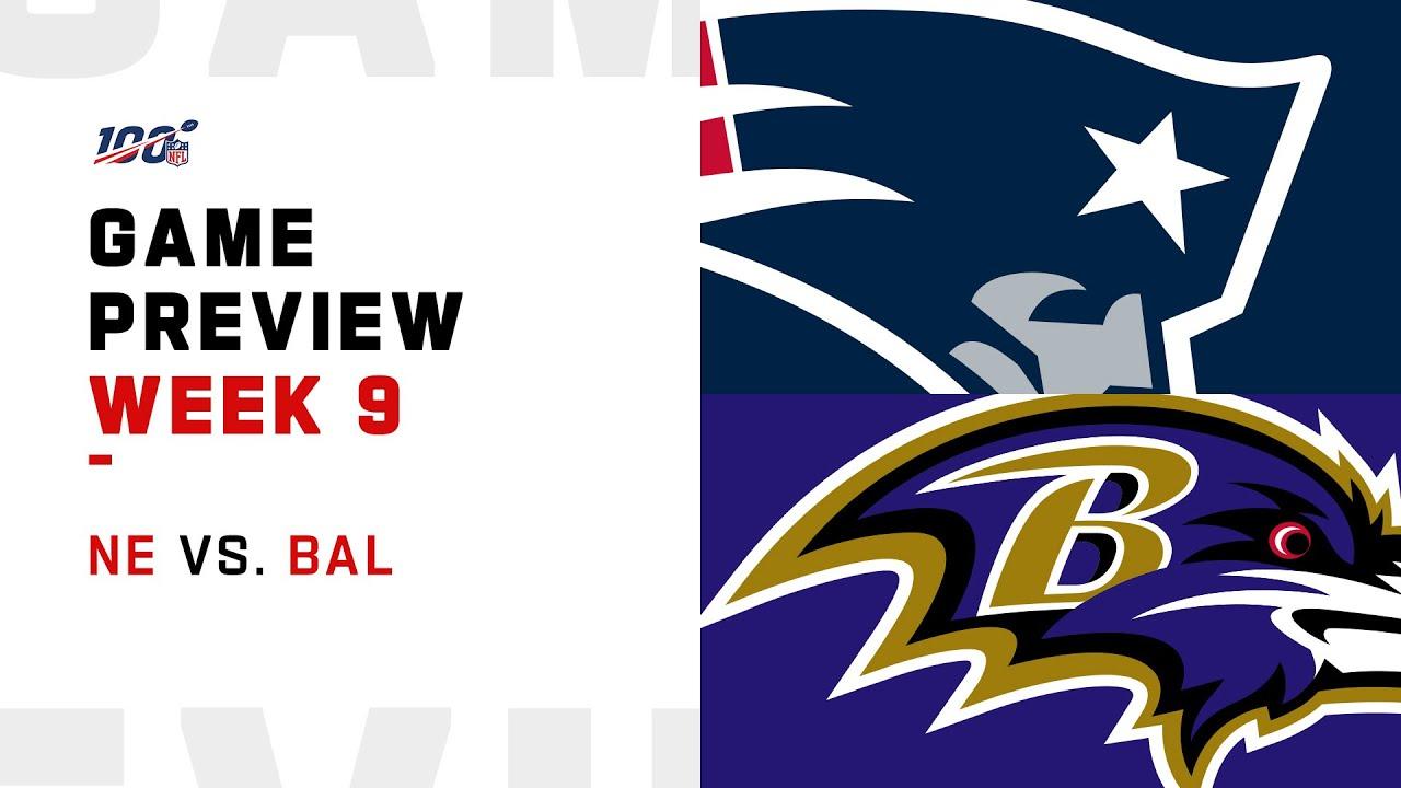 Patriots vs. Ravens Live Updates   Week 9