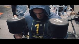"""1st Phorm Chest Day with Big Ty Russ, Michael """"Nodonutshere"""" Counihan, and Danny Jones"""