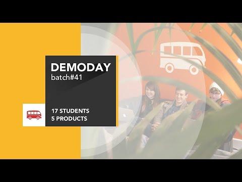 Le Wagon DemoDay - Batch #41 - London