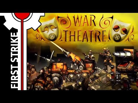 🎮 First Strike - War Theatre [ Gameplay | Turn-Based Strategy ]