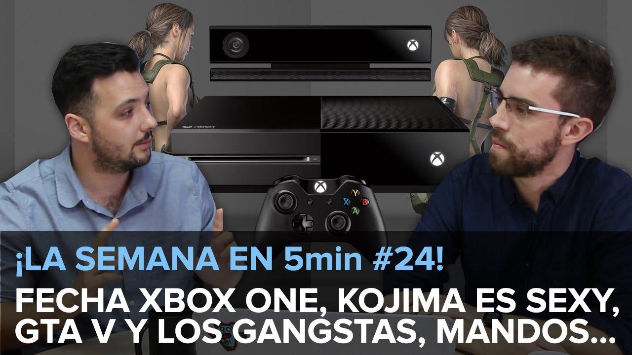 ¡LA SEMANA EN 5min #25! Fecha Xbox One, Kojima is sexy, GTA y los pandilleros...