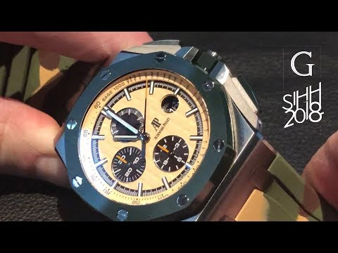 SIHH 2018: Audemars Piguet Royal Oak, Royal Oak Offshore, FIRST LOOK