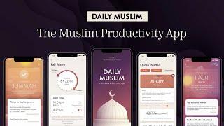 Full: Daily Muslim - a revolutionary new Islamic app with Prayer Times, Qibla Compass, Quran & more! screenshot 4