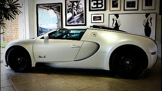 Bugatti Veyron Blanc Noir Grand Sport Special Edition Interior, Exterior Overview 1 of 1