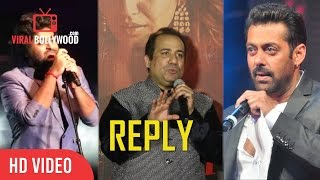Rahat Fateh Ali Khan Reply On | Salman Khan And Arijit Singh Controversy | Sultan Song