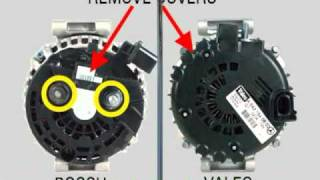 Trailer: Bosch and Valeo Com Terminal Alternators