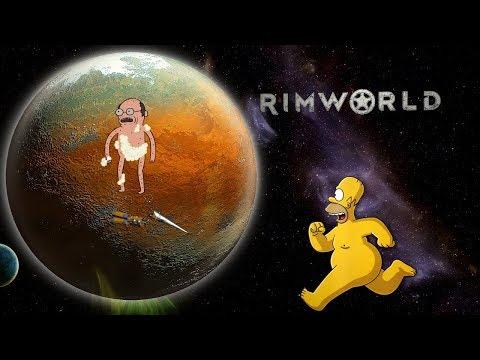 Неприкрытая жестокость. RimWorld v.1.0.2 Попытка №2 (стрим) #2