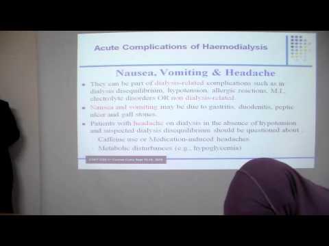 Acute Complications of Haemodialysis  Dr Adel Ghorab  Zagazig University