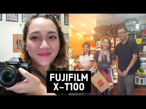 Fujifilm X T100 -My New Vlogging Camera -  Unboxing and Review by Margrette