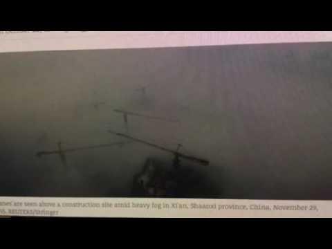 "WARNING: ""China ""Smog"" And ""Fog"" Becomes Dangerous"