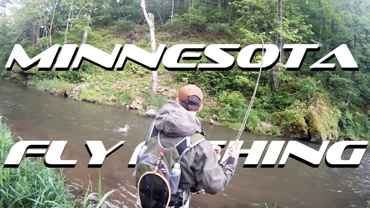 Fly Fishing Whitewater State Park Minnesota Youtube