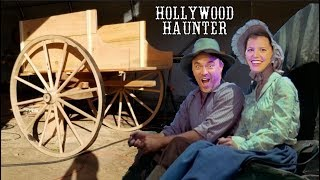 DIY Themed Decorations - Make An Old Western Wagon - Wagon Wheel Mini Golf Course Obstacles