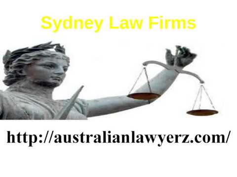 Criminal Law Firms  Australia
