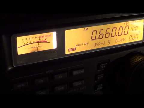 Mediumwave AM 660 khz WFAN