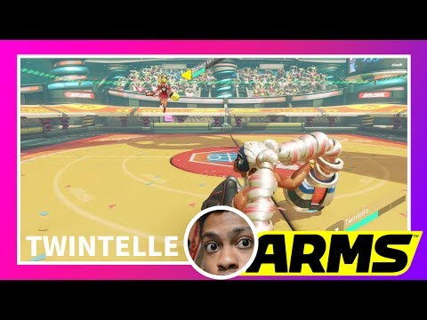 Download Youtube: Twintelle New Waifu | ARMS GAMEPLAY