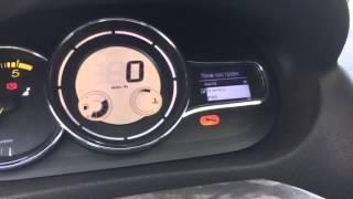 Renault Megane(2009-2015)-русифікація меню панелі приладів дизельного автомобіля з Європи.