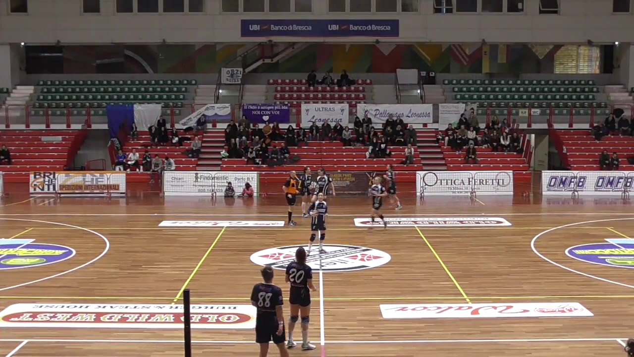 Serie A1F [19^]: Brescia - Flavioni 20-27