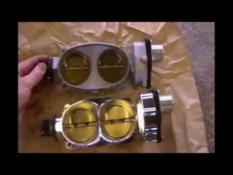 Shelby GT500 Ford Racing Cobra Jet 65mm Throttle Body And J & M Extreme Lower Control Arms.