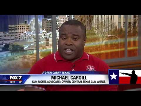 Open carry in Texas legal in January