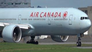 Taxiing 24R - Air Canada (B777-300ER) - Qatar - Rouge - Sunwing - Air Transat - CYUL Montreal