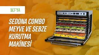 Tribest Sedona Combo Meyve ve Sebze Kurutma Makinesi Nasıl Kullanır?