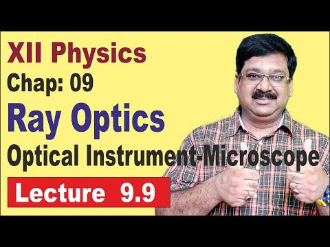 NCERT XII Physics Chap-9.9 | Simple Microscope | Compound Microscope | Ray Optics |