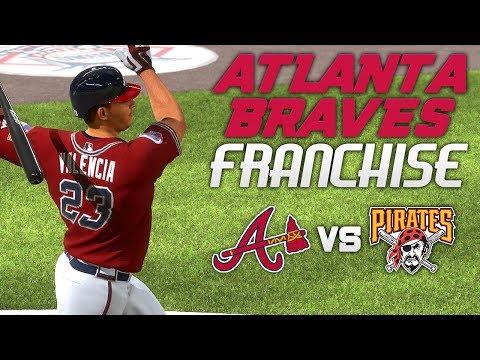 MLB The Show 17: Braves Franchise Vs Pirates [G32 S2, Ep. 40] - SPARKPLUG