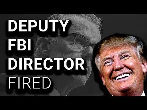 Total Chaos: Deputy FBI Director FIRED, Trump Celebrates