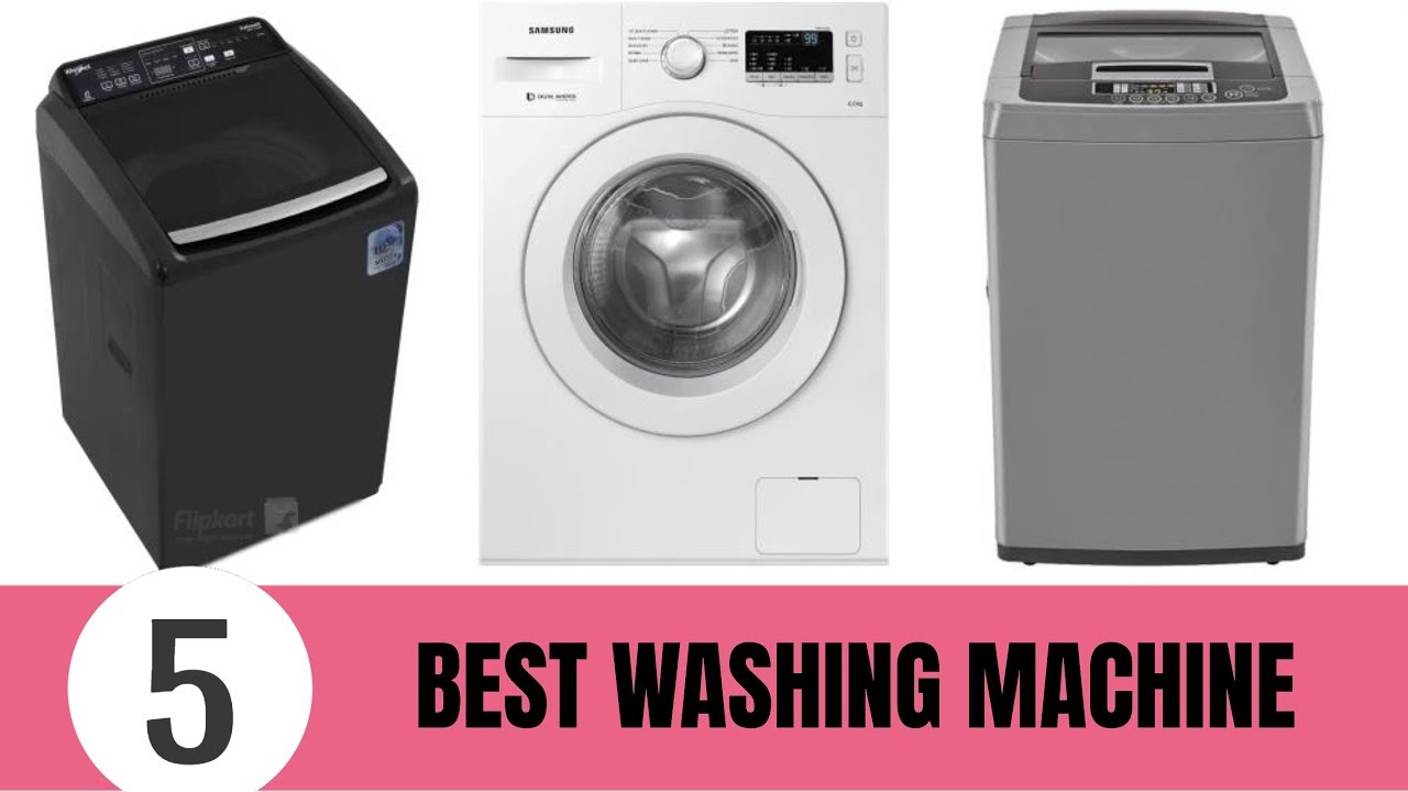 Best Top Loading Washing Machine >> Top 5 Best Fully Automatic Washing Machine 2019 - YouTube