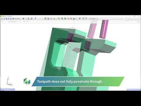 Rough and Profile Cycles Through Limited Hole Feature | EDGECAM 2022.0