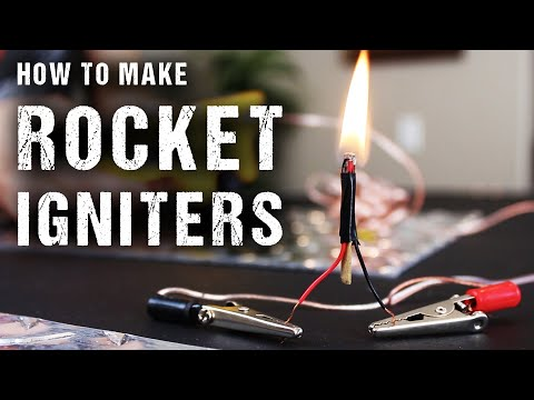How to Make Rocket Igniters (Electric Matches)