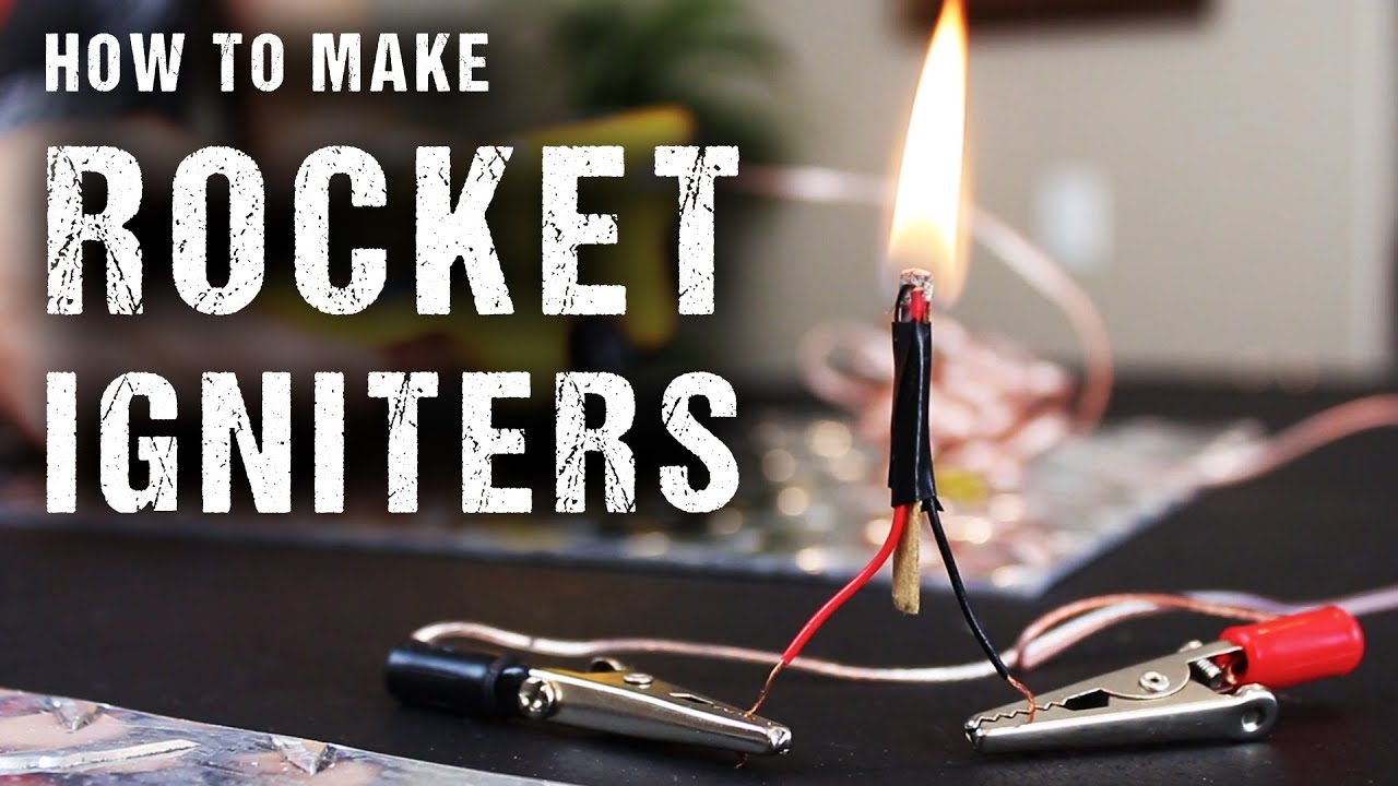 How To Make Rocket Igniters Electric Matches Youtube