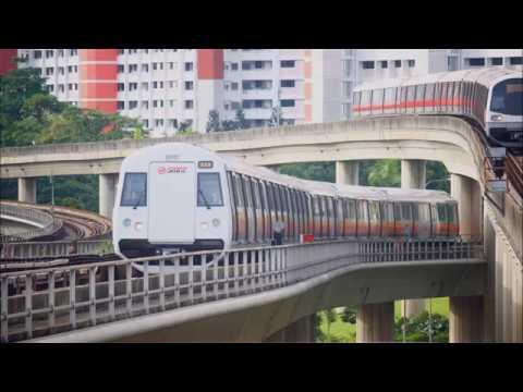 新加坡SMRT:C151B North South Line----Bishan to Toa Payoh (No train to city)
