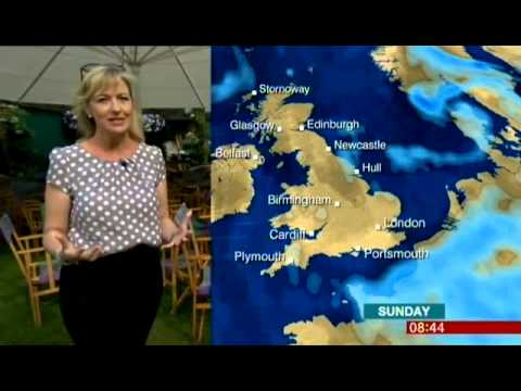 BBC WEATHER GIRL CAROL KIRKWOOD