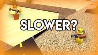 Does the Hallowboomer slow more than the Flamethrower? | Tower Battles [ROBLOX]